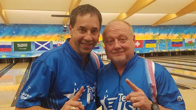 U.S. Men Win Doubles at 2017 World Bowling Senior Championships