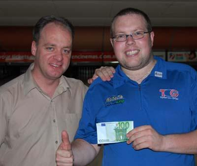 Williams happy with his €100 from Neil Dent