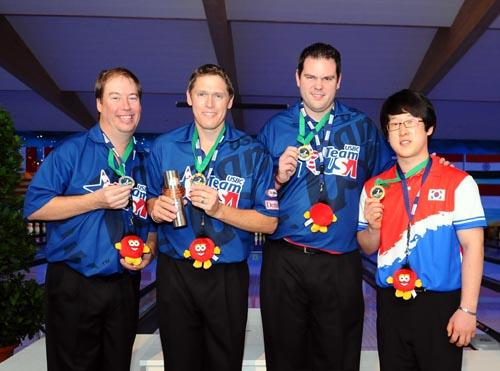 Masters medalists