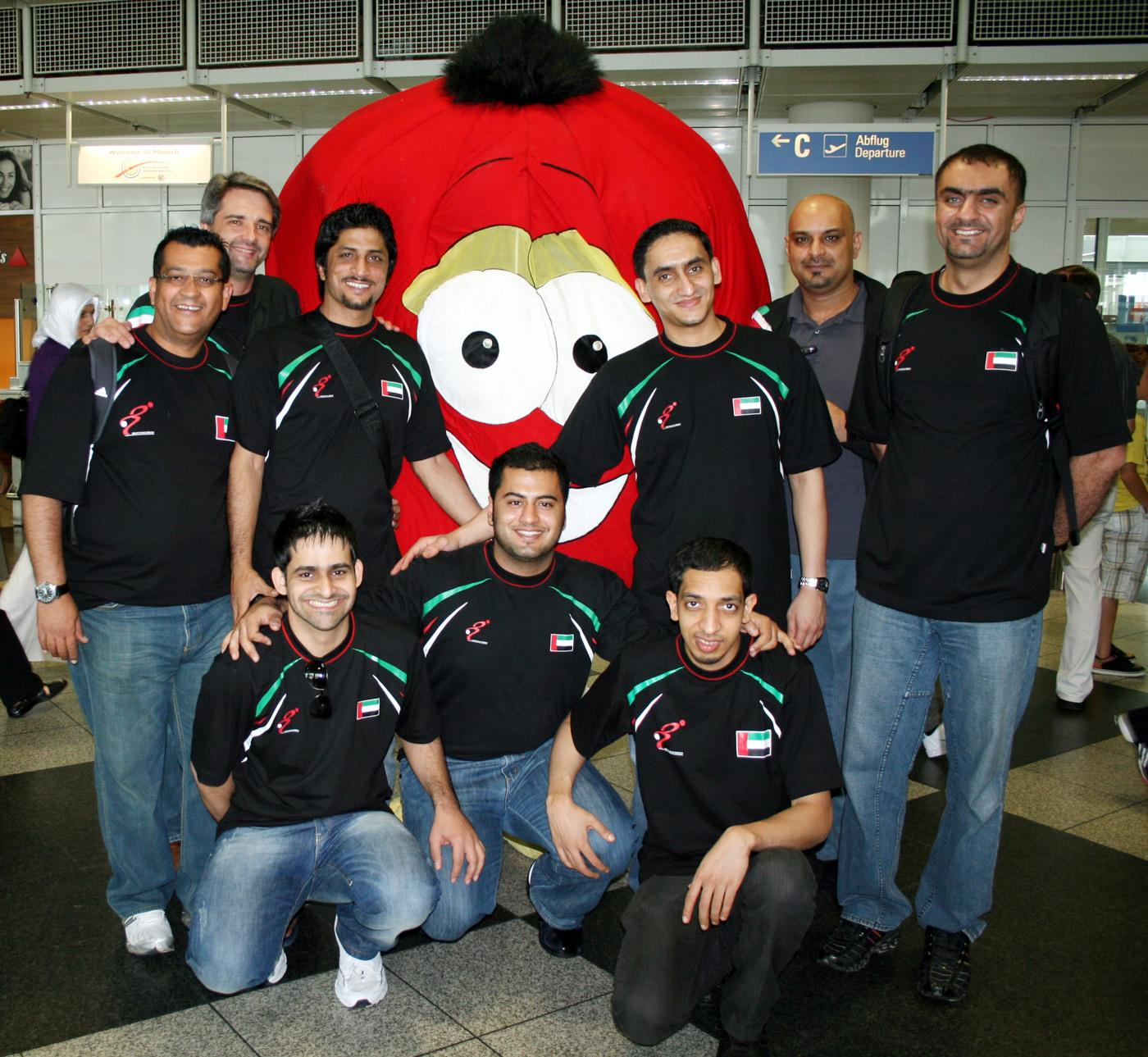 Team United Arab Emirates