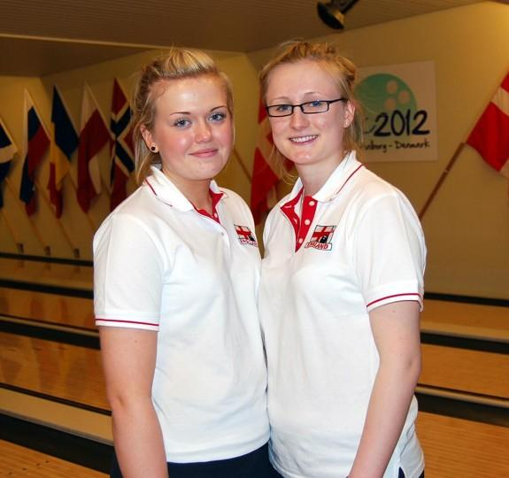 Bethany Hedley and Hannah Frost