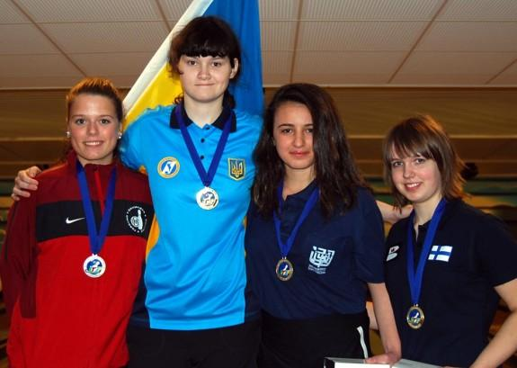 Girl Masters medalists