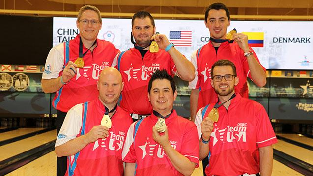 Team USA Men, Malaysia Women's Team Claim Team Gold at World Championships