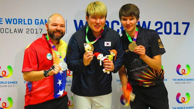 Korea's Cho Wins Singles Gold at World Games