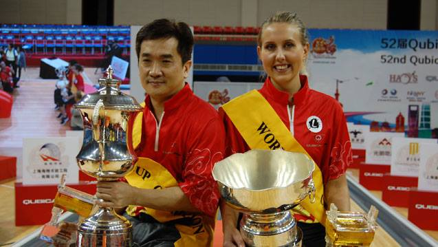 China, Sweden Claim 52nd QubicaAMF World Cup Titles