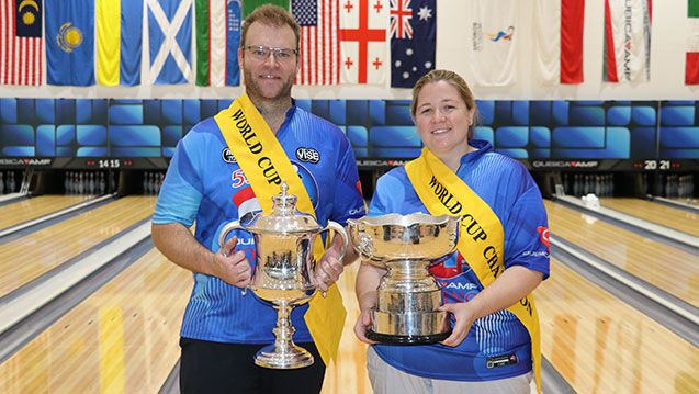 South Africa, Australia Win Titles at 2019 QubicaAMF World Cup
