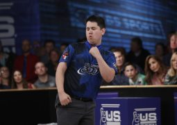 2017 U.S. Open TV Stepladder Finals championship game, #2 Rhino Page vs #1 Jakob Butturff  at the Flamingo Bowl, Liverpool, NY November 1, 2017 Photo by Gregg Ellman