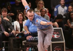 LOS ANGELES, CA - JANUARY 17:  Professional bowler EJ Tackett attends the State Farm Chris Paul PBA Celebrity Invitational held at Lucky Strike Lanes at L.A. Live on January 17, 2017 in Los Angeles, California.  (Photo by Jesse Grant/Getty Images for Professional Bowlers Association)