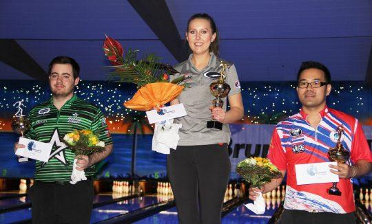 Jenny Wegner takes home the top prize at the 2018 Brunswick Euro Challenge.