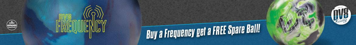 DV8 Frequency Footer