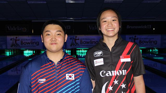 Korea, Singapore Win Singles Titles at 2019 World Bowling Junior Championships