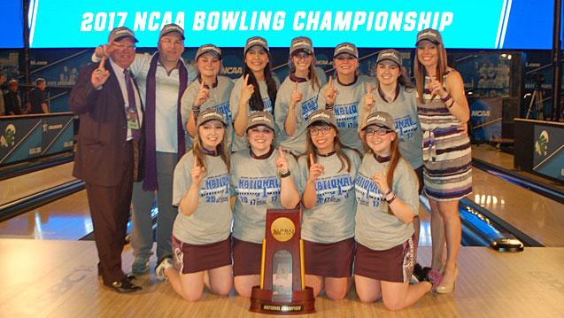 McKendree Wins 2017 NCAA Women's Bowling Championship