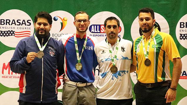 Team USA's Russo Wins Masters, McEwan Runner-Up at PABCON Champion of Champions