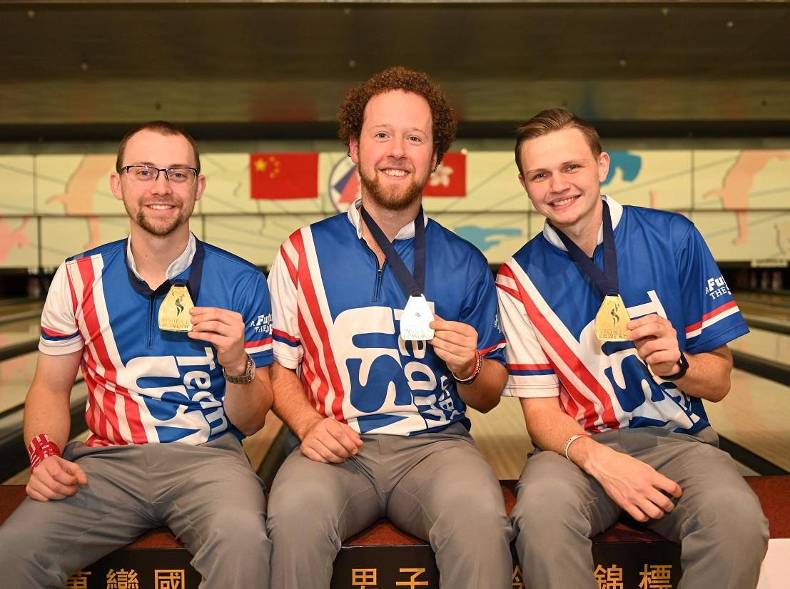 Team USA Wins Trios, All-Events at 2018 World Men's Championships