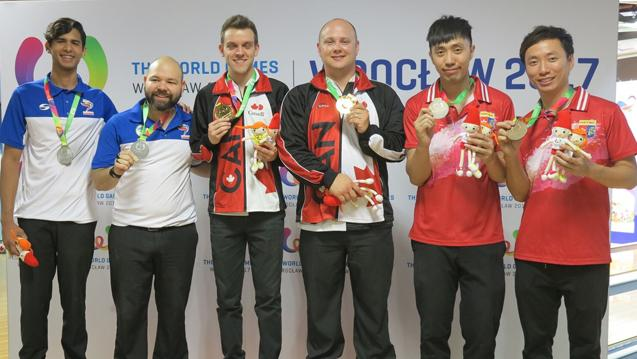 Canada's Francois Lavoie, Dan MacLelland Take Doubles Gold at World Games