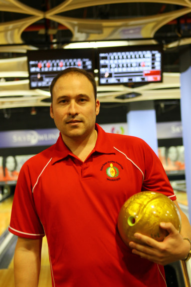 Malta's Neil Sullivan bowled the event's first 300 game on day two.