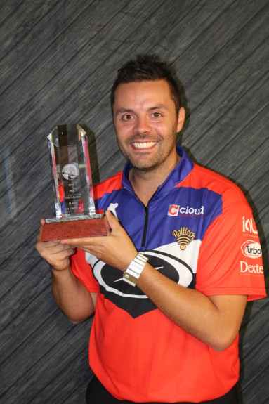 Belmonte also won his second straight Player of the Year award on the 2014 PBA Tour