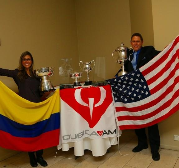 QubicaAMF World Cup defending champions, Clara Guerrero and Chris Barnes