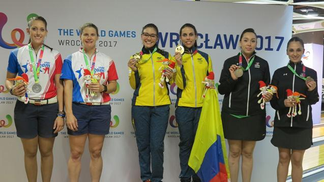 Restrepo, Guerrero Take Doubles Gold at World Games