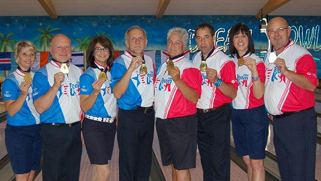 U.S. Stages Rout at World Bowling Senior Championships with Team, All-Events Sweep