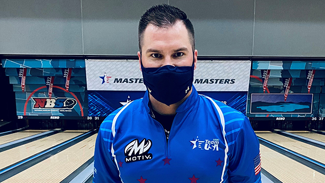 AJ Johnson Leads After First Round of 2021 USBC Masters