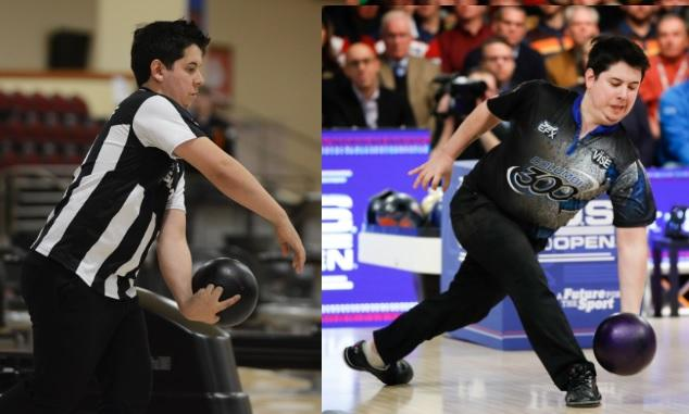 Jakob Butturff sports one of the most unusual styles ever seen on the PBA Tour.
