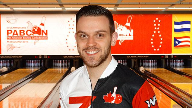 Canada's Lavoie wins singles at 2019 PABCON Men's Championships