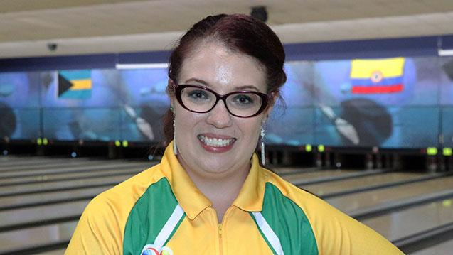Brazil's Martins Bags Singles Gold at PABCON Women's Championships