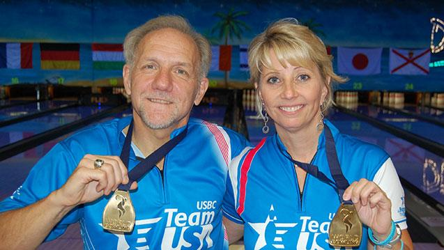 United States Sweeps Singles Gold Medals at 2017 World Bowling Senior Championships