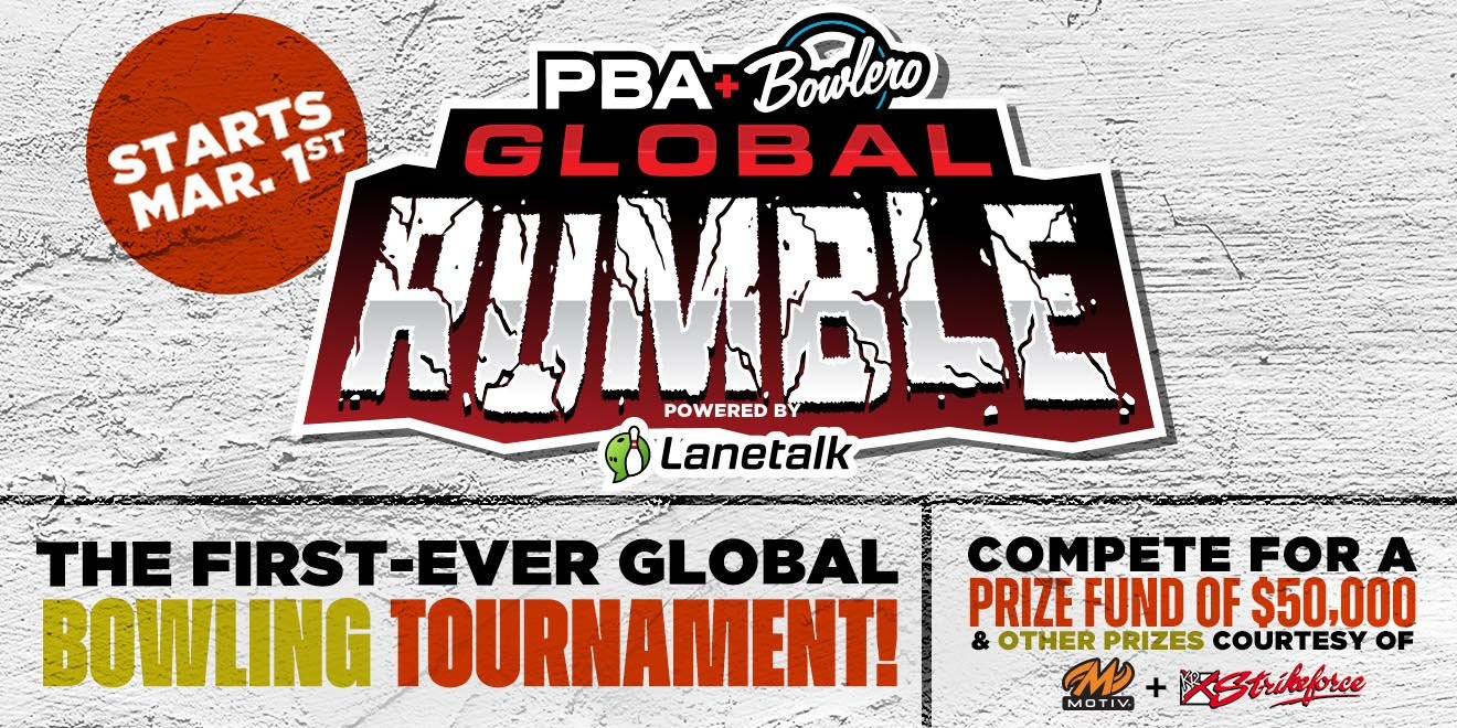 Qualifying Extended for PBA Bowlero Global Rumble Tournament