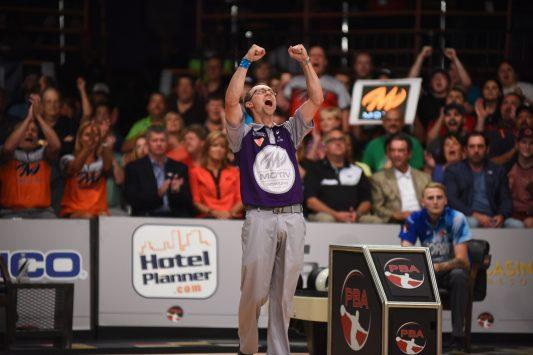 Sep 10, 2016; During the PBA Bowl Fall Swing Tour at Thunderbowl Lanes in Allen Park, MI. Credit: Tim Fuller