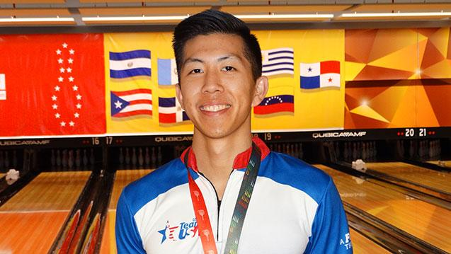 Team USA's Tang Earns Masters Bronze at 2019 PABCON Men's Championships